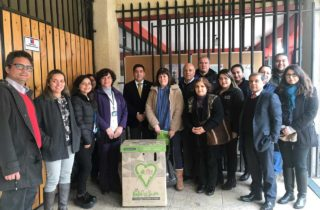JUNJI O'Higgins se une a campaña de reciclaje de papel en la región