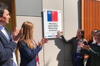 """Manitos raíz de libertad"": Autoridades inauguraron jardín que beneficiará a 48 niñas y niños de Tiltil"
