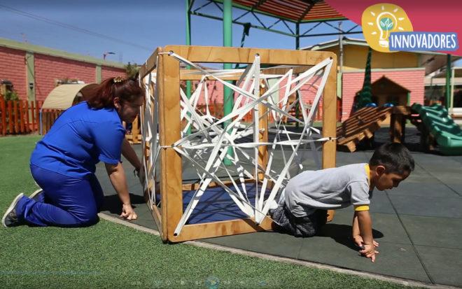 """JUNJInnova: El mobiliario sustentable del Jardín Infantil """"Capullito"""""""