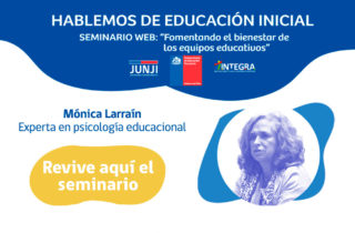 """Seminario web: """"Fomentando el bienestar de los equipos educativos"""""""