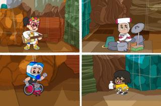 TV Educa lanza ¡Upa, Chalupa!, serie original hecha por Junji