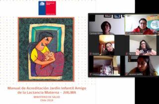 A través de dos sesiones de 3 horas cada una, equipos educadores de la Junji Maule adquirieron herramientas para fortalecer la Red de Apoyo a la Lactancia Materna y avanzar al proceso de Acreditación Jialma.