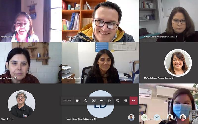 Vicepresidenta ejecutiva de Junji comenzó Gira Virtual en Atacama