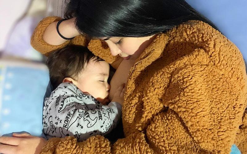 Junji apuesta por la lactancia materna